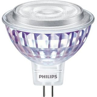 PHILIPS Master LEDspot Value 7 Watt MR16 GU5.3 827 2700 Kelvin warmweiss extra 60 Grad dimmbar