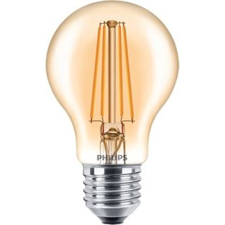 PHILIPS Classic LEDbulb 7,5 Watt E27 820 A60 gold Filament dimmbar
