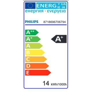 PHILIPS LEDbulb SceneSwitch 14 Watt A67 E27 827 2700 Kelvin warmweiss extra matt